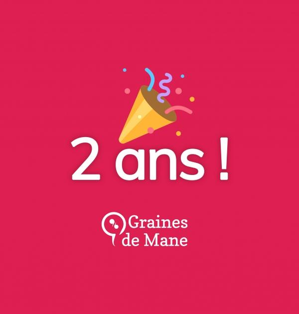Graines de Mane fête ses deux ans !